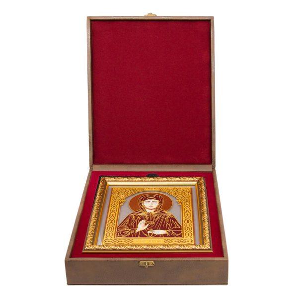 икона «Св. блаженная Матрена» в футляре