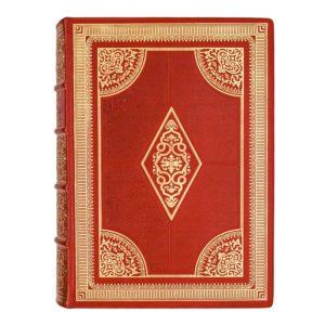 «Московское дворянство. Алфавитный список дворянских родов» кожаный переплет